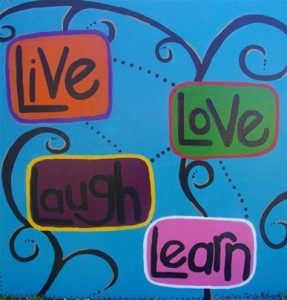 Live Love Laugh Learn - CFN