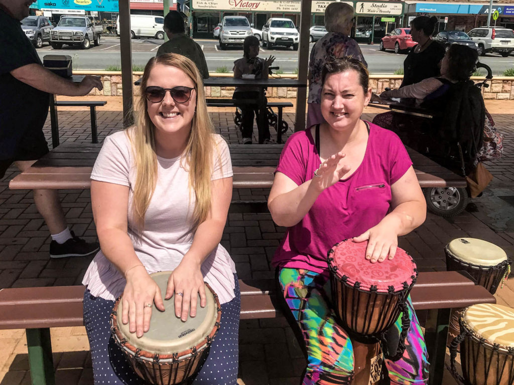 CFN enthuse drumming